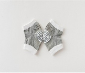 Baby Knee pads Grey - MOMqaow