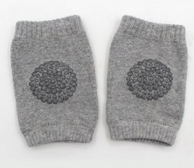 Baby Knee pads Light Grey - MOMl2pq