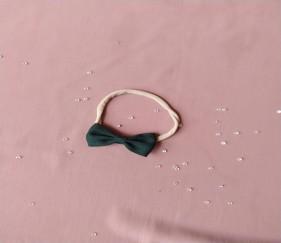 Small Bow Knot Dark Green - MOMjkpk