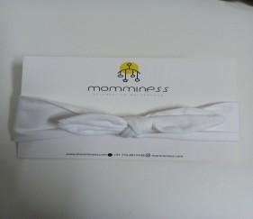 White cotton bow - MOM5n7s