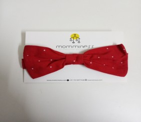 Cute red cotton bow - MOM3vty