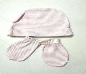 Newborn cap and gloves set - MOM4k60