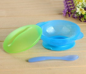 Baby suction bowl with spoon - MOMcggr