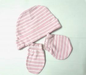Newborn cap and gloves set - MOMuoqj