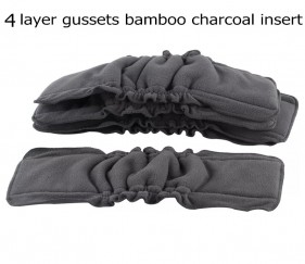 4 layer gussets bamboo charcoal insert - MOMoo8u
