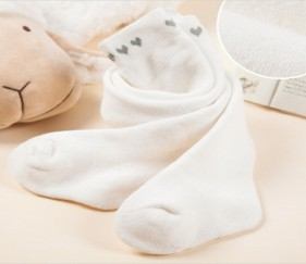 Heart Baby Stockings White - MOMd5l3