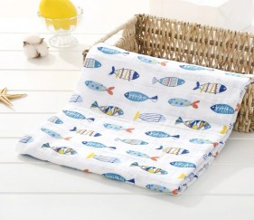 Muslin Wrap / Swaddle - MOMmtmm